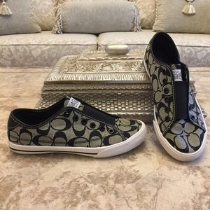 "Coach Signature""Bev"" Sneakers, size 6 1/2B"